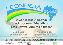 I Congresso Nacional de Programas Educativos para Jovens, Adultos e Idosos: qualidade em questão