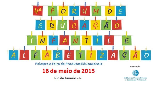 4º FÓRUM DE EDUCAÇÃO INFANTIL E ALFABETIZAÇÃO