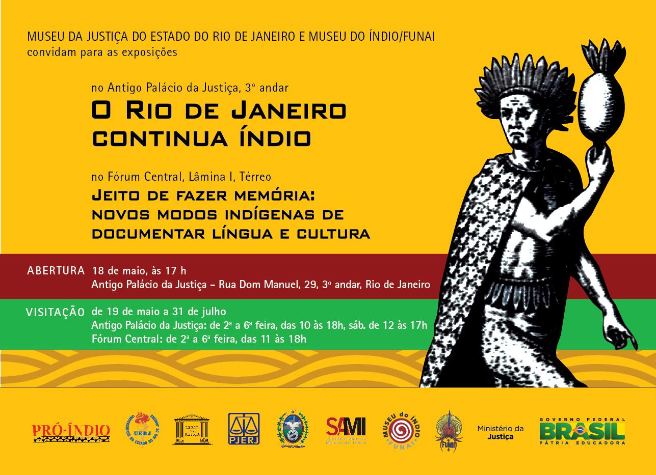 O Rio de Janeiro continua índio