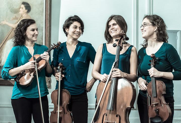 Foto Quarteto Coralina 2015
