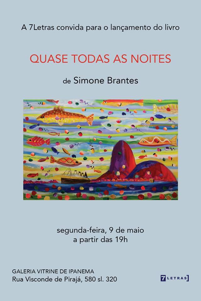 Lançamento de Livro-Simone Brantes