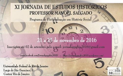 XI Jornada Manoel Salgado - poster
