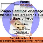 Fórum PPGZoo - Publicação científica
