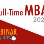 Webinar - Full-Time MBA COPPEAD/UFRJ