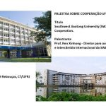 Palestra:Southwest Jiaotong University(SWJTU):International Cooperation