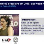 A política externa brasileira em 2019: quo vadis?