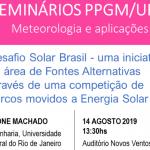 SEMINÁRIOS PPGM/UFRJ