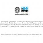 Outorga de Título de Professor Emérito a Ricardo Medronho