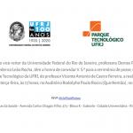 Cerimônia de Posse do diretor do Parque Tecnológico da UFRJ