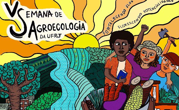 V Semana de agroecologia: fortalecendo elos, florescendo potencialidades