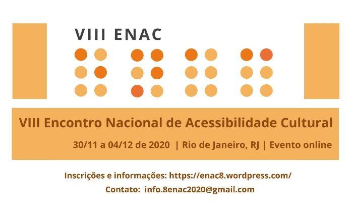 XVIII Encontro Nacional de Acessibilidade Cultural – ENAC