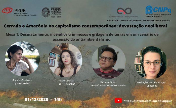 Cerrado e Amazônia no capitalismo contemporâneo: devastação neoliberal