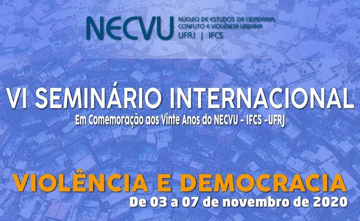 """Seminário Internacional """"Violência e democracia"""""""