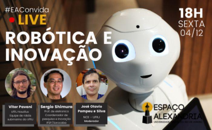 EAConvida - Live: Robótica e inovação