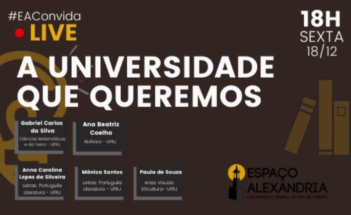 EAConvida - LIVE: A Universidade que queremos
