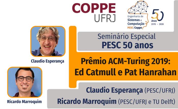Prêmio ACM-Turing 2019: Ed Catmull e Pat Hanrahan