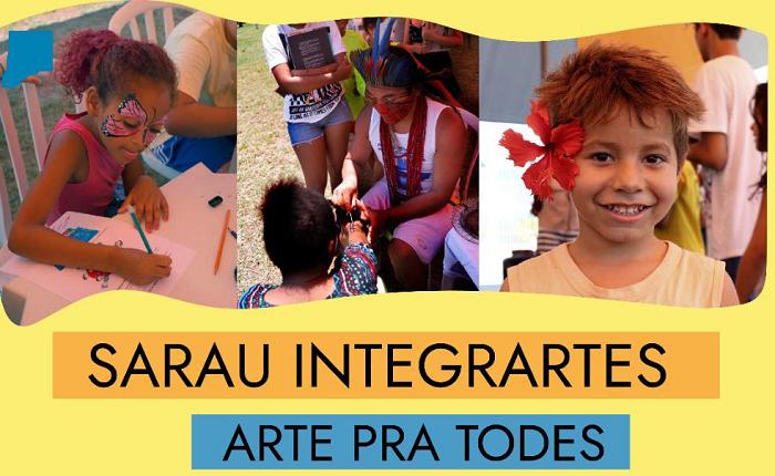 """Sarau """"IntegrArtes"""" 2020 - Arte para todes"""
