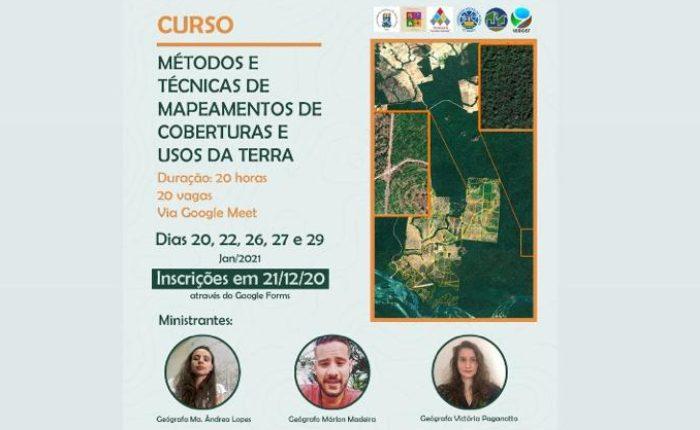 Curso de mapeamento de coberturas e usos da terra (UFPel)