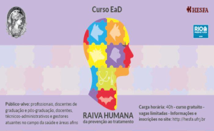 Raiva humana: da prevenção ao tratamento - turma 02