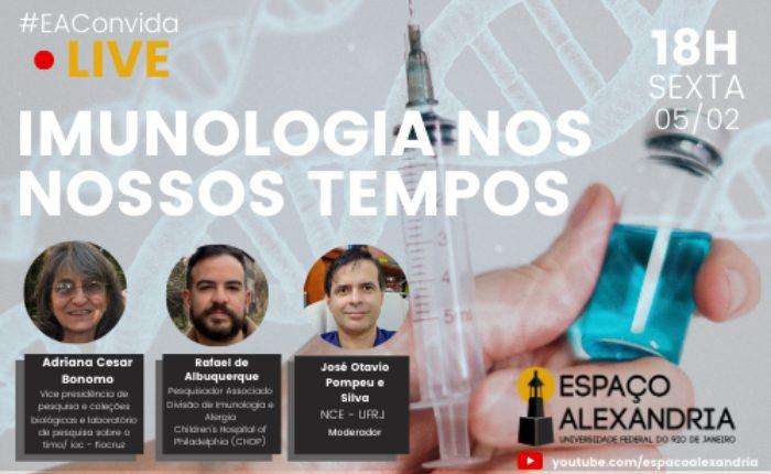 EAConvida - LIVE: Imunologia nos nossos tempos