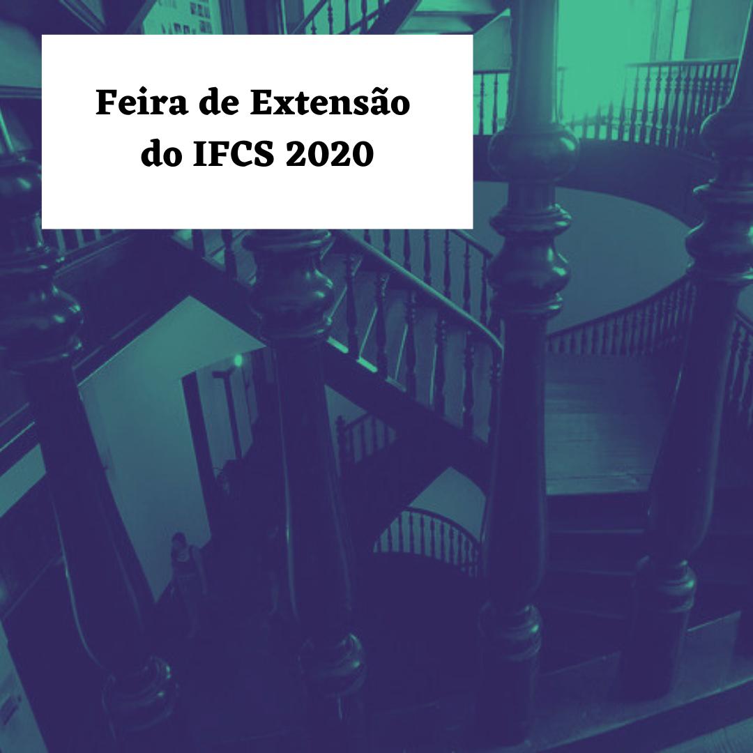 Feira de Extensão do IFCS 2021