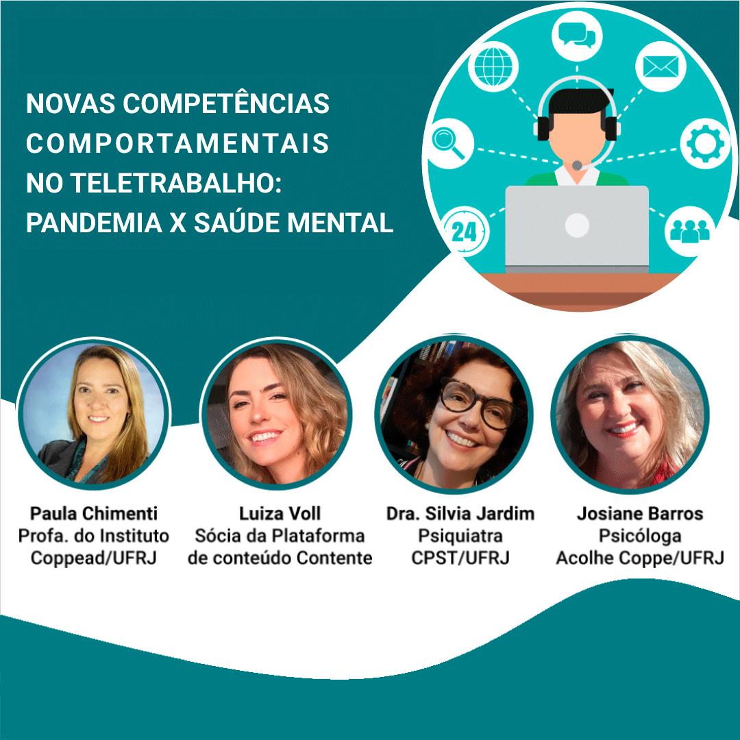 Novas competências comportamentais no teletrabalho: pandemia x saúde mental