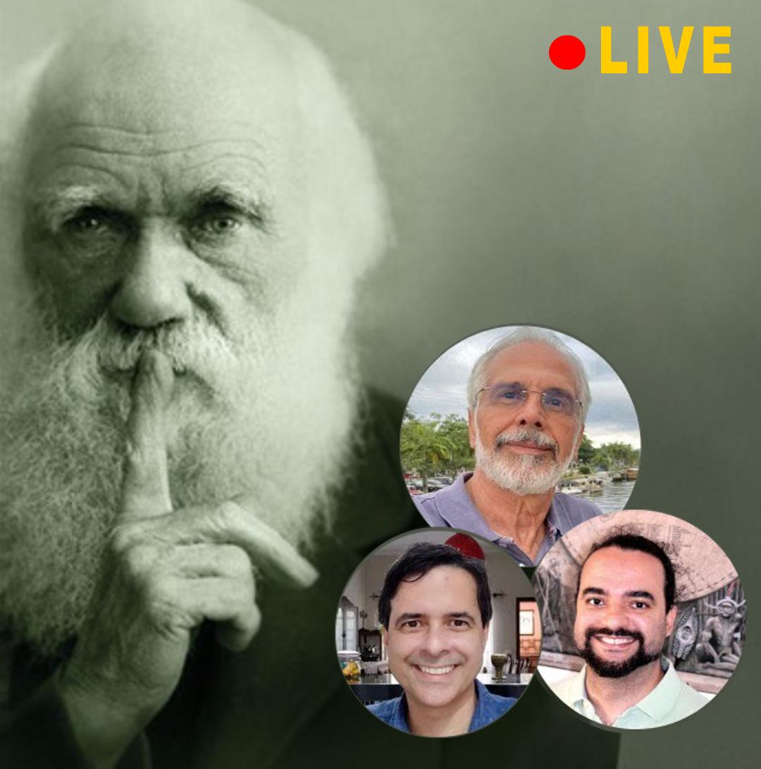 EAConvida - LIVE: Darwin e os dias atuais...