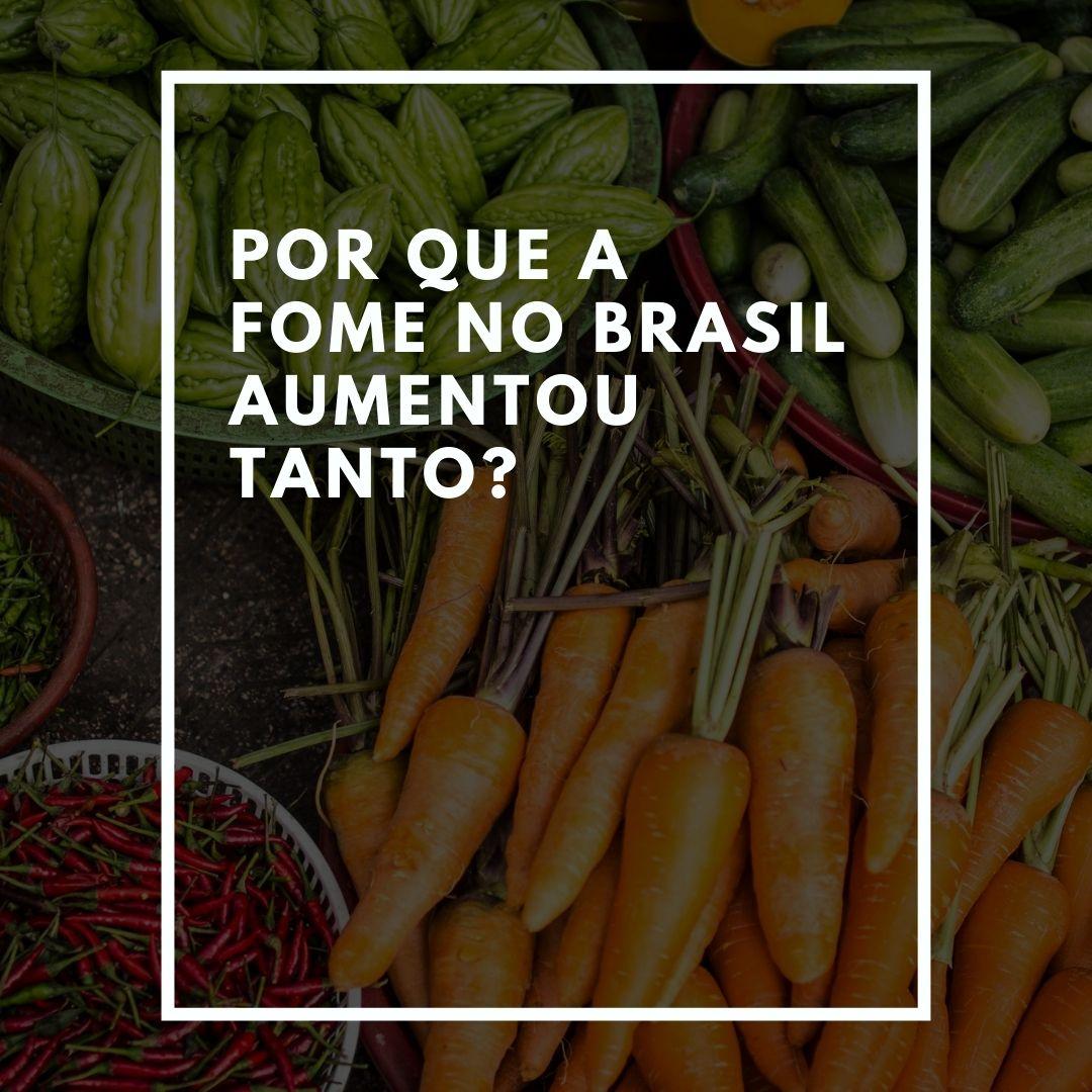 Por que a fome no Brasil aumentou tanto?
