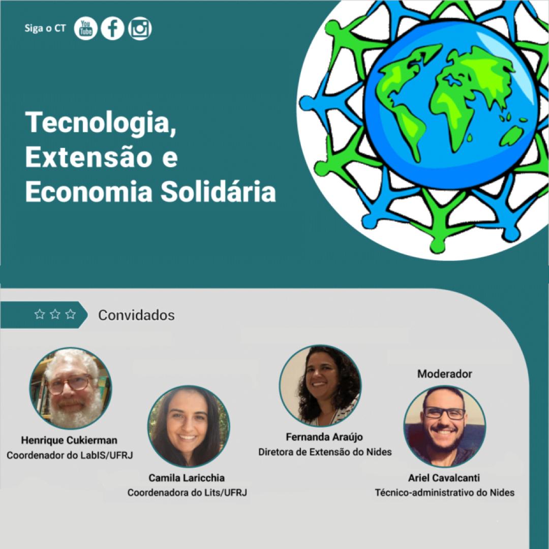 Tecnologia, Extensão e Economia Solidária