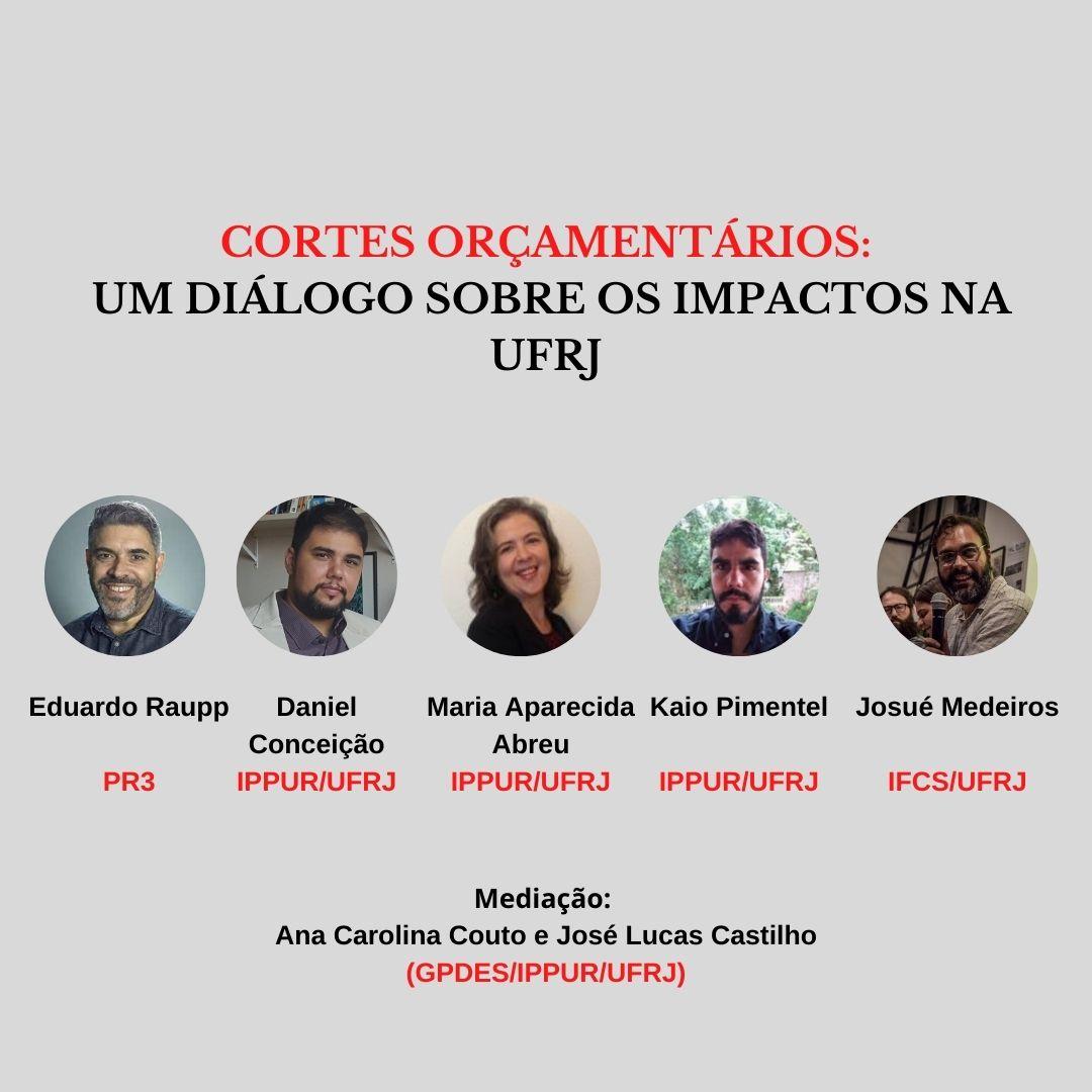 Cortes Orçamentários: Um Diálogo Sobre os Impactos na UFRJ