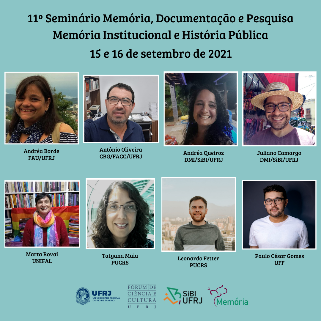 Memória, Documentação e Pesquisa: Memória Institucional e História Pública
