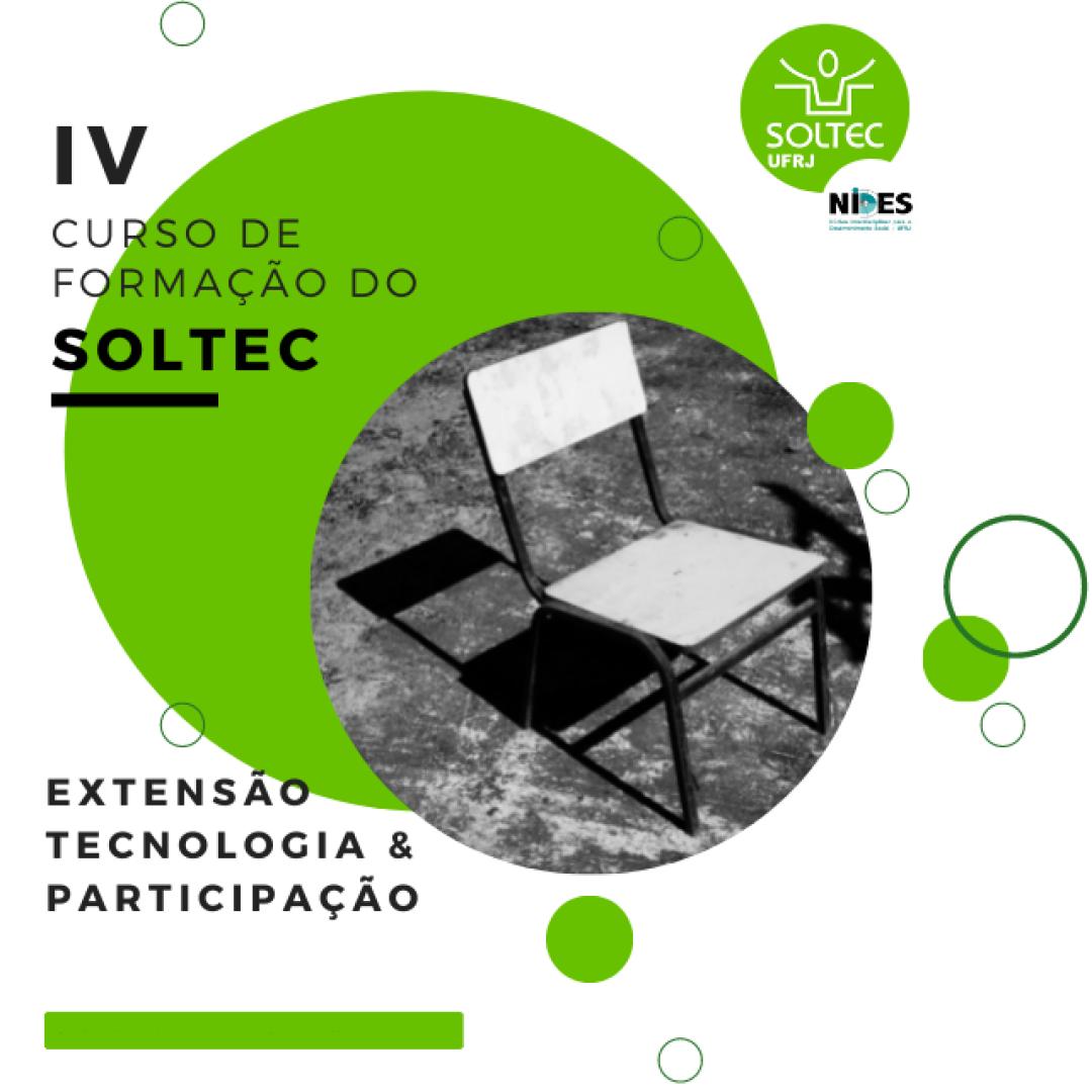 Curso de Formação do SOLTEC – Extensão, Tecnologia & Participação.