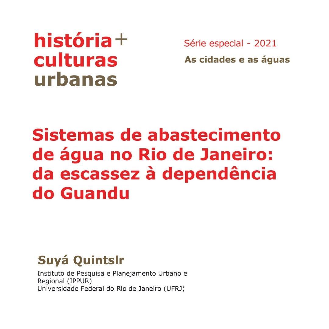História e Culturas Urbanas