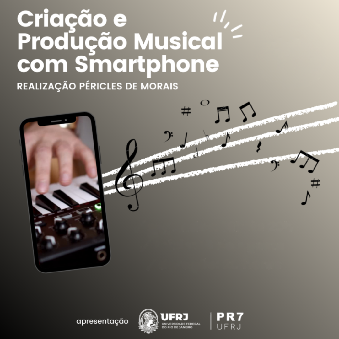 Criação e produção musical com smartphone