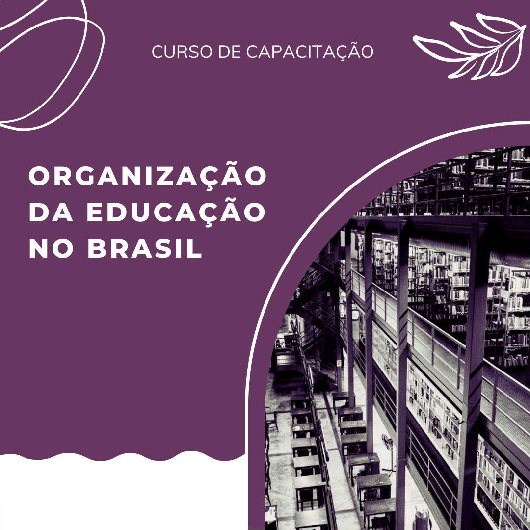 Curso de capacitação: Organização da educação no Brasil