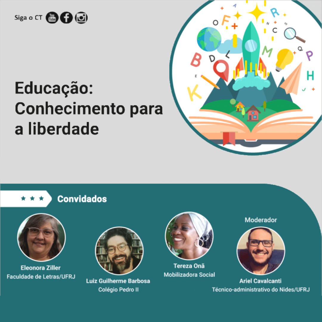 Educação: conhecimento para a liberdade